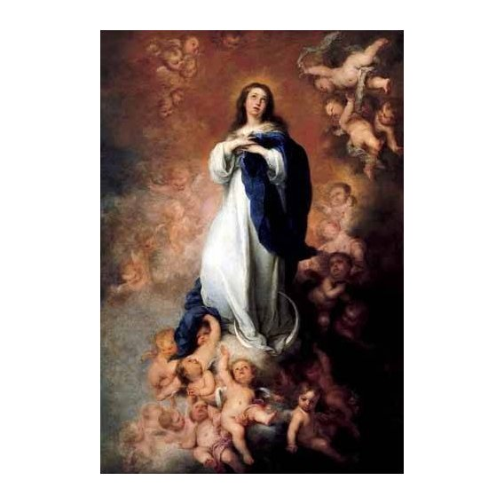 imagens religiosas - Quadro -Inmaculada Concepcióon de Soult-