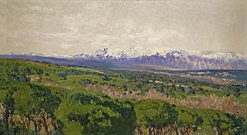 tableaux-de-paysages - Tableau -Guadarrama - Madrid- - Beruete, Aureliano de