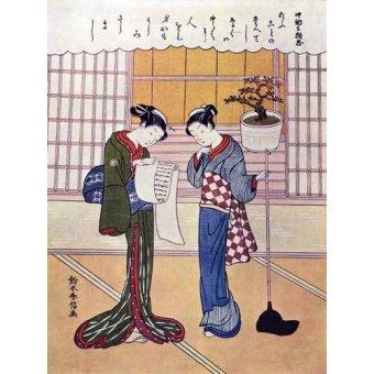 Tableaux orientales - Tableau -Misiva- - _Anónimo Japones