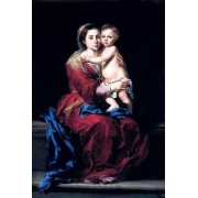 Tableau -La Virgen del Rosario-