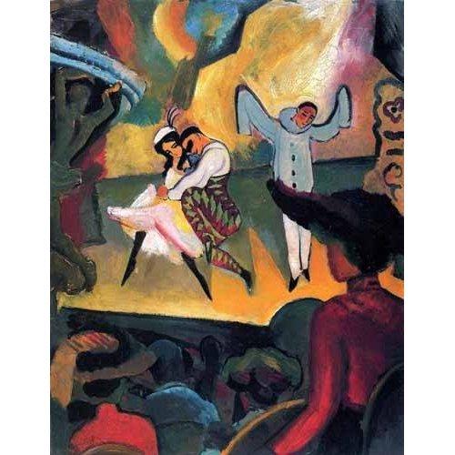 Tableau -Ballet ruso-