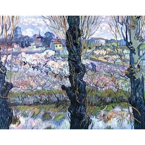 Tableau -Vue d'Arles-