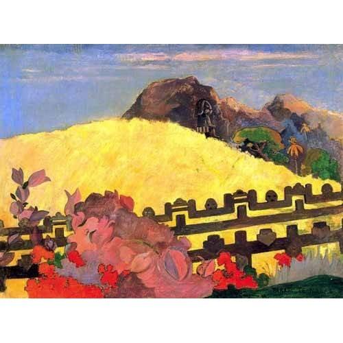Tableau -Parahi te marae (El templo está allí)-