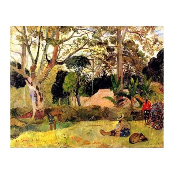 pinturas de paisagens - Quadro -Te raaú rahi-