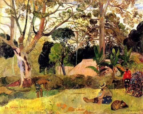 tableaux-de-paysages - Tableau -Te raaú rahi- - Gauguin, Paul