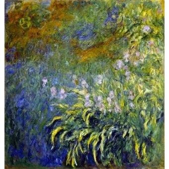 Tableaux de Fleurs - Tableau -Lirios junto al estanque- - Monet, Claude