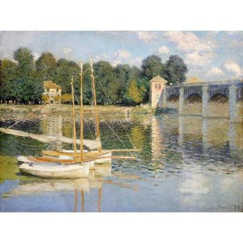 Tableau -Le pont d'Argenteuil, 1874-
