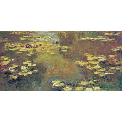 pinturas de paisagens - Quadro -The Pond of Water Lilies, 1919-