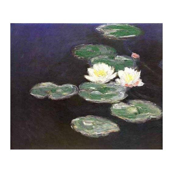 pinturas de paisagens - Quadro -Nympheas (Waterlilies)-