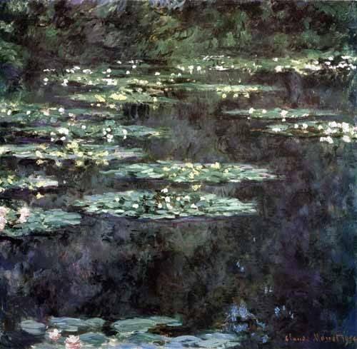 tableaux-de-paysages - Tableau -Nymphéas, 1904- - Monet, Claude