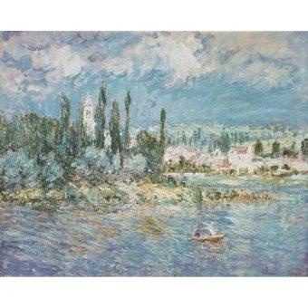 Tableaux de paysages marins - Tableau -Thunderstorms- - Monet, Claude
