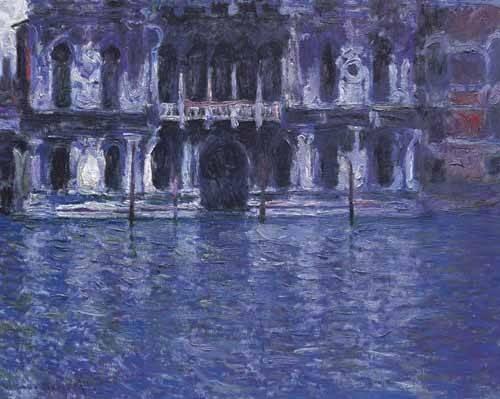 tableaux-de-paysages - Tableau -Le Palazzo Contarini- - Monet, Claude