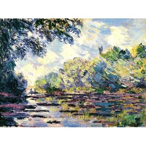 Tableau -La Seine, près de Giverny-