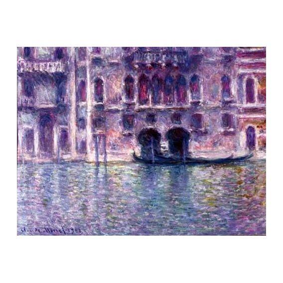 pinturas de paisagens - Quadro -El Palazzo de Mula, Venecia, 1908-