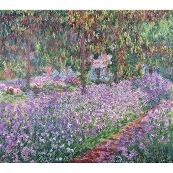 Tableau -Le Jardin de l'artiste à Giverny-