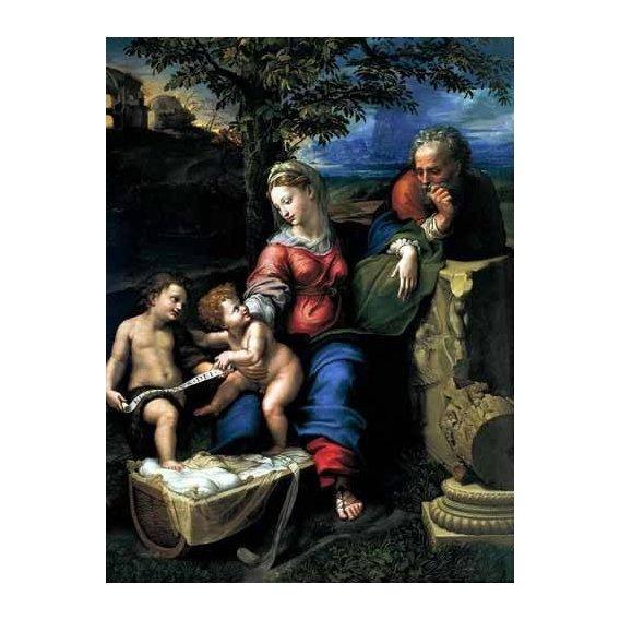 imagens religiosas - Quadro -La Sagrada Familia del Roble-