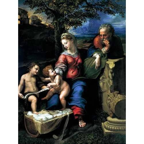 Tableau -La Sagrada Familia del Roble-