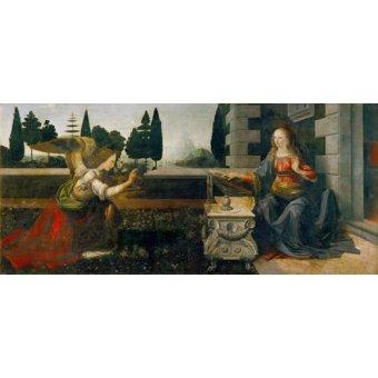 Tableaux religieuses - Tableau -L'annonciation- - Vinci, Leonardo da