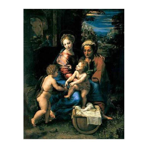 imagens religiosas - Quadro -La Sagrada Familia de la Perla-
