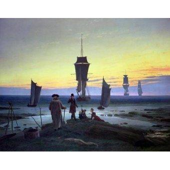 Tableaux de paysages marins - Tableau -The Stages of Life, 1835- - Friedrich, Caspar David