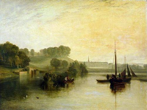 tableaux-de-paysages-marins - Tableau -Petworth, Sussex, The Sea of the Earl of Egremont- - Turner, Joseph M. William