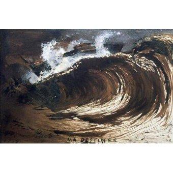 Tableaux de paysages marins - Tableau -My Destiny- - Hugo, Victor