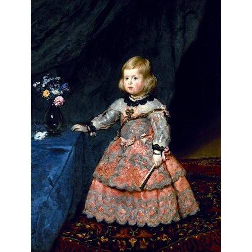 Tableau -Retrato de la Infanta Margarita a la edad de tres años-