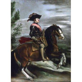 - Tableau -Felipe IV, Rey de España- - Velazquez, Diego de Silva