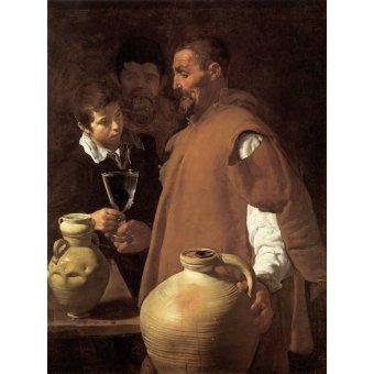 - Tableau -El aguador de Sevilla- - Velazquez, Diego de Silva