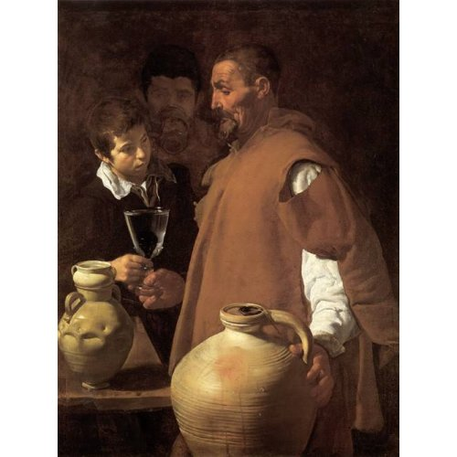 pinturas do retrato - Quadro -El aguador de Sevilla-