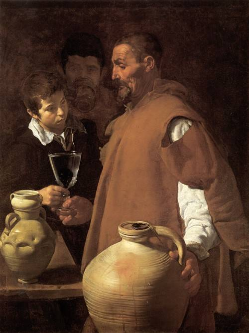 tableaux-de-personnages - Tableau -El aguador de Sevilla- - Velazquez, Diego de Silva