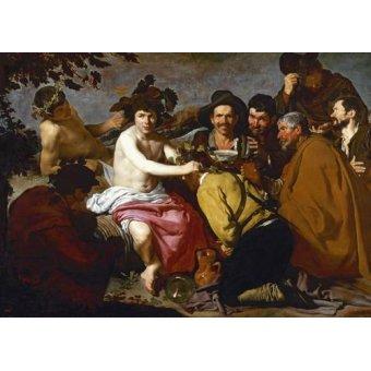 - Tableau -Los borrachos (El triunfo de Baco)- - Velazquez, Diego de Silva