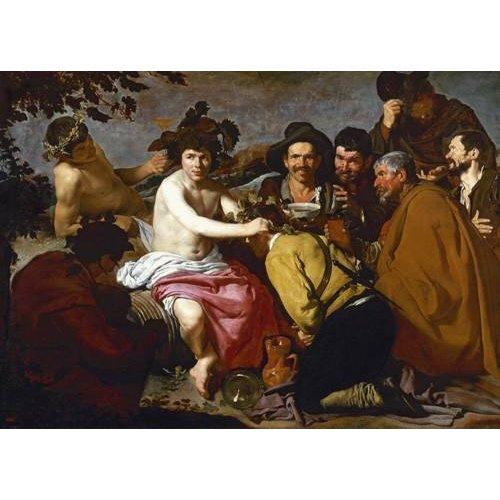 Tableau -Los borrachos (El triunfo de Baco)-