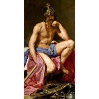 - Tableau -El dios Marte- - Velazquez, Diego de Silva