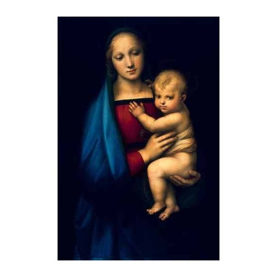 imagens religiosas - Quadro -Madonna del Granduca-