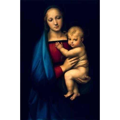 Tableau -Madonna del Granduca-