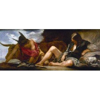 - Tableau -Mercurio y Argos- - Velazquez, Diego de Silva