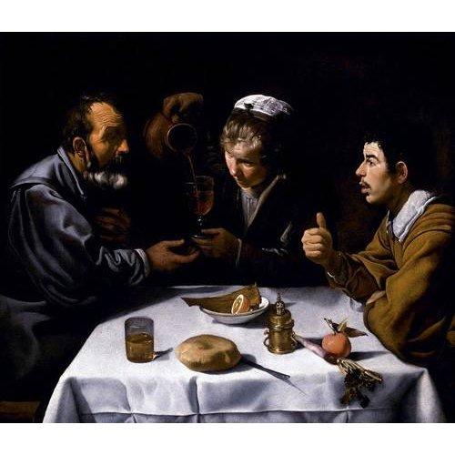 pinturas do retrato - Quadro -El almuerzo-