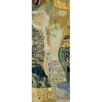 Tableaux de Personnages - Tableau -Serpents d'eau- - Klimt, Gustav