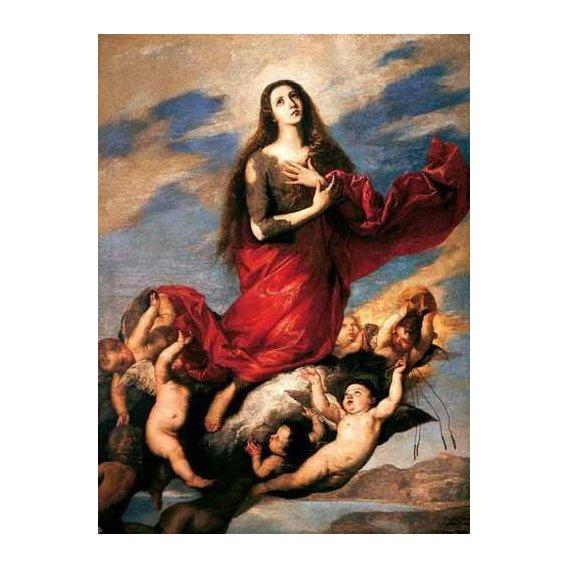 imagens religiosas - Quadro -El tránsito de la Magdalena-