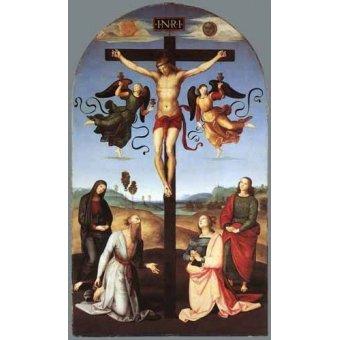 Tableaux religieuses - Tableau -Crucifixion- - Raphaël, Sanzio da Urbino Raffael