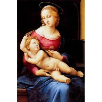 Tableaux religieuses - Tableau -The bridgewater Madonna- - Raphaël, Sanzio da Urbino Raffael