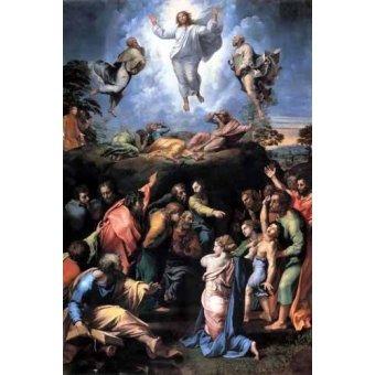 Tableaux religieuses - Tableau -The Transfiguration- - Raphaël, Sanzio da Urbino Raffael