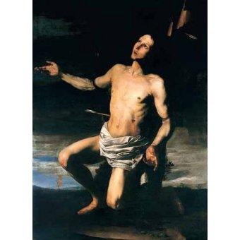 Tableaux religieuses - Tableau -San Sebastián- - Ribera, Jose de