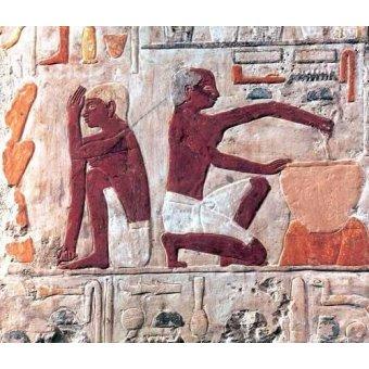 Tableaux orientales - Tableau -Elaboración del pan, 2500-2300 a.C.- - _Anónimo Egipcio