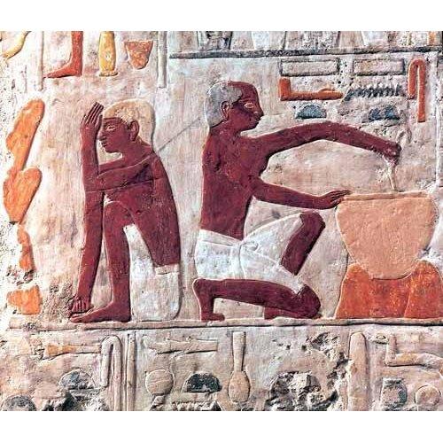 Tableau -Elaboración del pan, 2500-2300 a.C.-