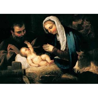 Tableaux religieuses - Tableau -La Sagrada Familia- - Tintoretto, Jacopo Robusti