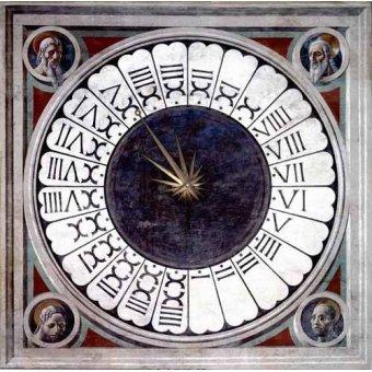 Tableaux religieuses - Tableau -Reloj Canónico- - Uccello, Paolo