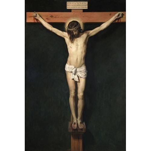 Tableau -Cristo Crucificado-