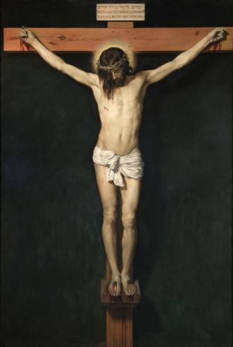 tableaux-religieuses - Tableau -Cristo Crucificado- - Velazquez, Diego de Silva